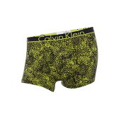 カルバンクライン メンズ インナー ボクサーパンツ・トランクス【Calvin Klein Anarchy Print ID Cotton Trunk】Yellow