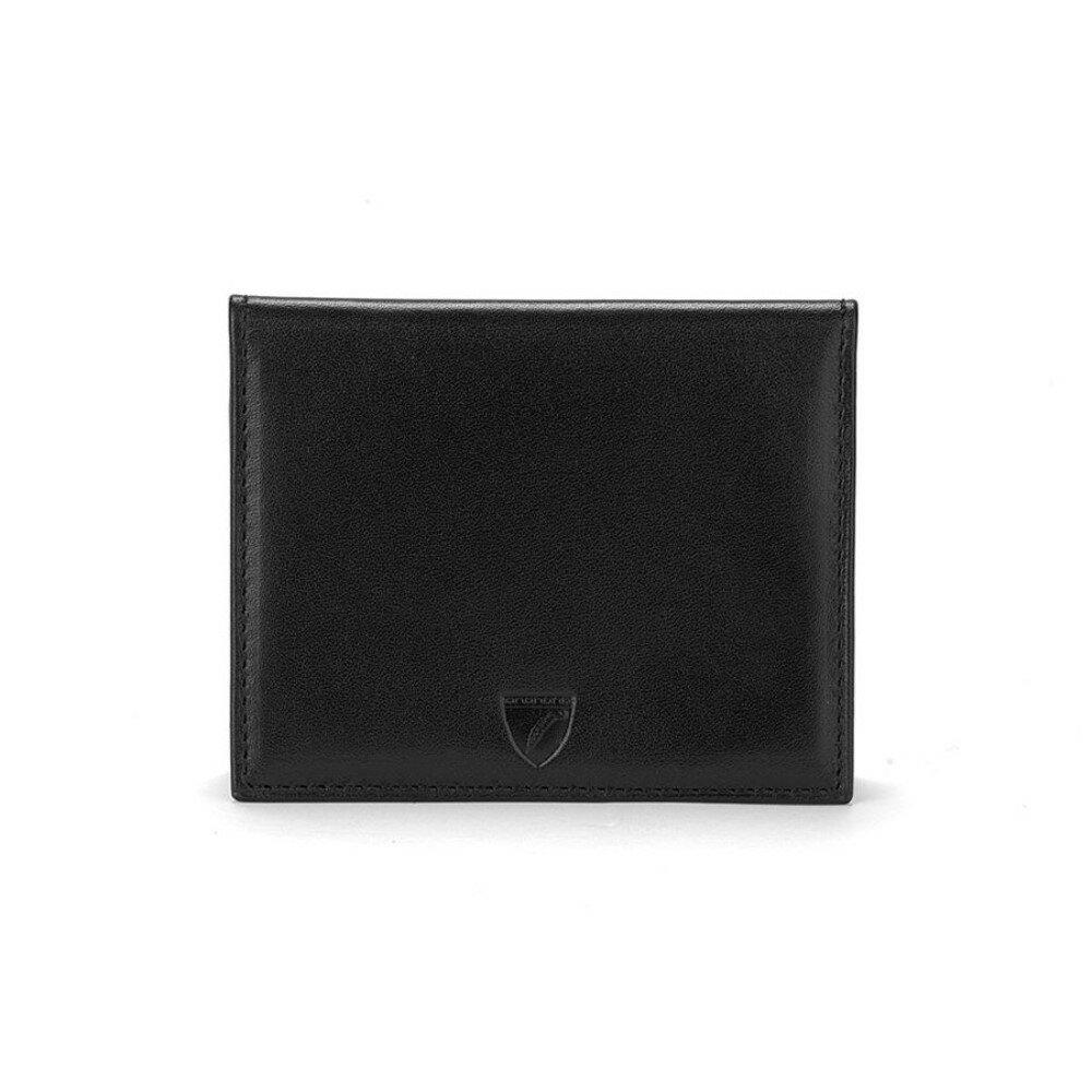 アスピナル オブ ロンドン メンズ カードケース・名刺入れ【Id & Travel Card Case】black