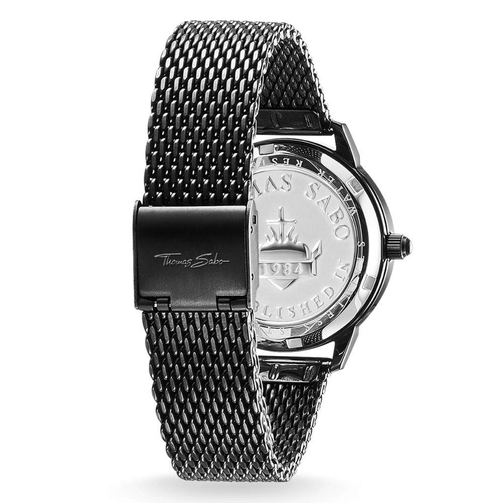 トーマスサボ レディース 腕時計【Watch Glam Spirit】metallic