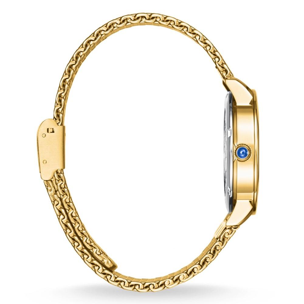 トーマスサボ レディース 腕時計【Glam Spirit Blue Gold  Watch】metallic