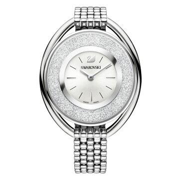 スワロフスキー レディース 腕時計【Crystalline Oval Watch】silver