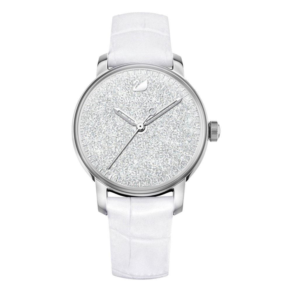スワロフスキー レディース 腕時計【Crystalline Hours Watch, White】white