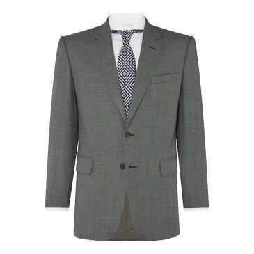チェスター バリー メンズ アウター スーツ・ジャケット【Birdseye Albermarle Suit】grey