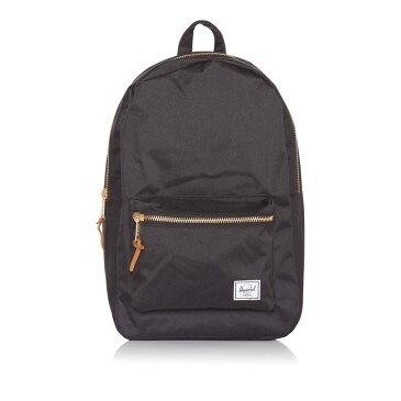 ハーシェル サプライ メンズ バッグ バックパック・リュック【Contrast Zip Classic Backpack】black