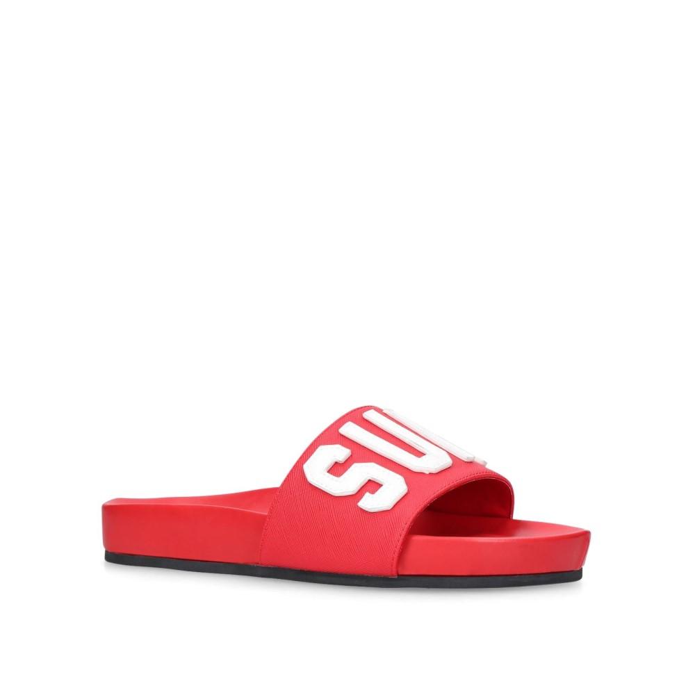 カート ジェイガー レディース シューズ・靴 ビーチサンダル【Summer Flip Flops】red