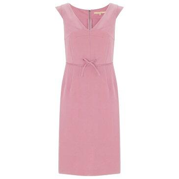 ヌガー ロンドン レディース ワンピース・ドレス ワンピース【Chelsea Cap Sleeve Dress】pink