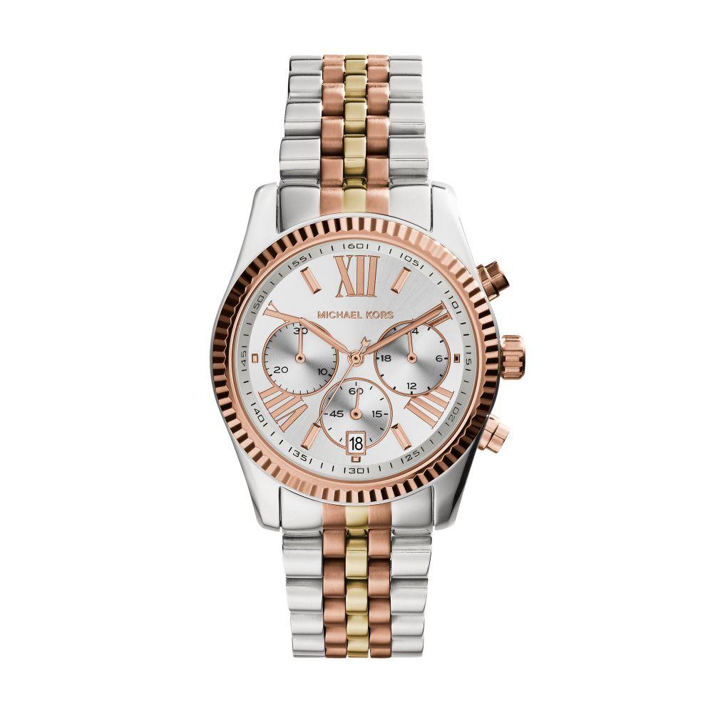 マイケル コース レディース 腕時計【Mk5735 Bracelet Watch】silver metallic
