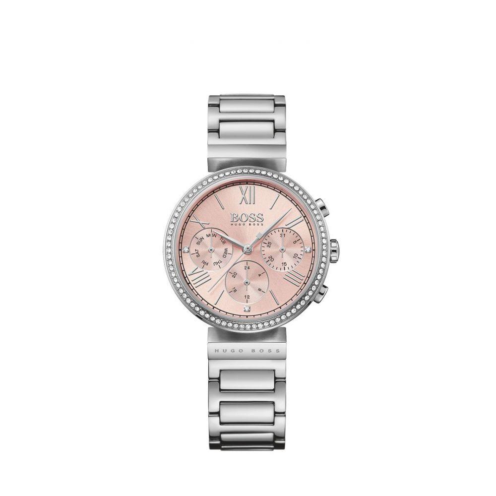 ヒューゴ ボス レディース 腕時計【Black Classic Sport Bracelet Watch】steel