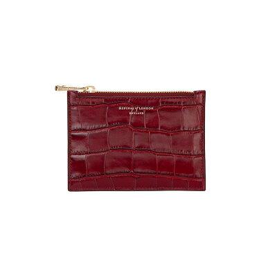 8ad2dda8a9b1 アスピナル オブ ロンドン レディース 財布【Essential Small Pouch】bordeaux アスピナル オブ ロンドン レディース 財布·時計·雑貨  財布 【サイズ交換無料】