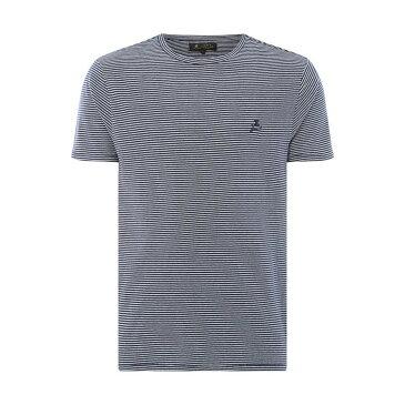 レーベルラボ Label Lab メンズ トップス Tシャツ【Blade Crew Neck Stripe T-shirt】navy