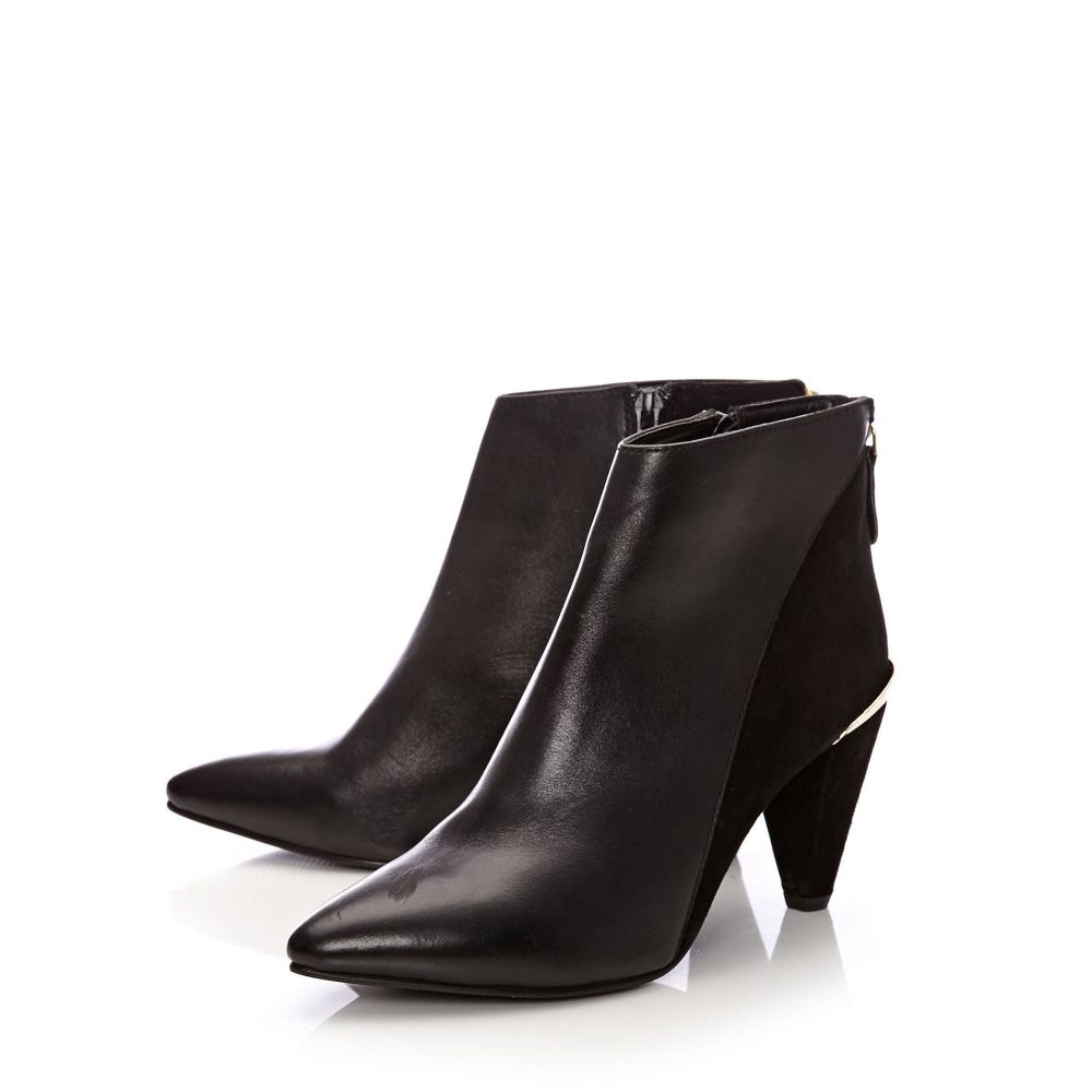 モーダインペレ Moda in Pelle レディース シューズ・靴 ブーツ【Layli Mediumsmart Short Boots】black