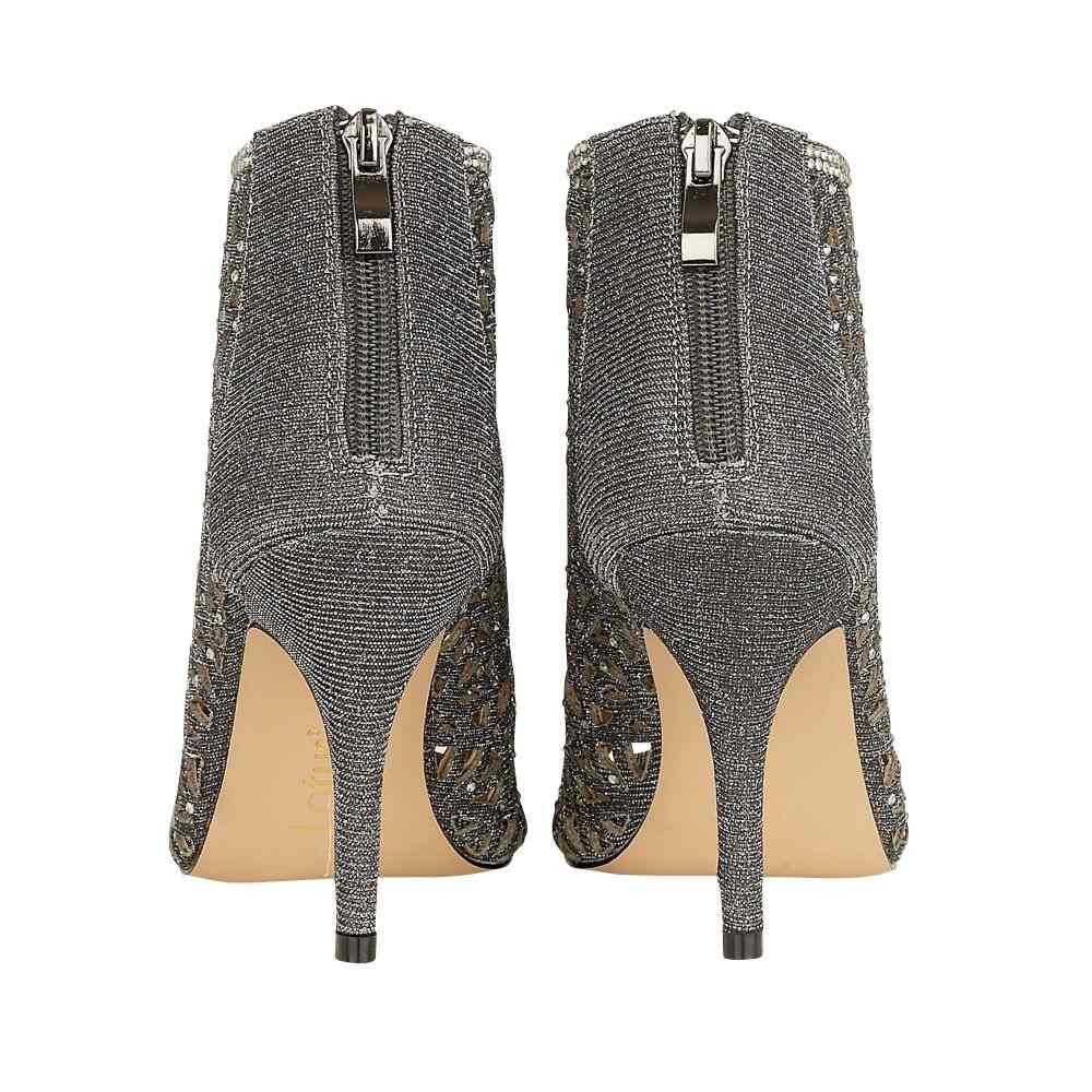 ロータス Lotus レディース シューズ・靴 サンダル・ミュール【Abello Peep Toe Sandals】pewter