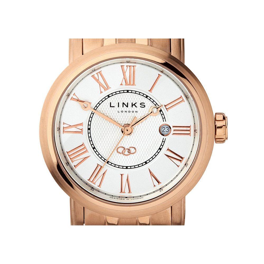 リンクス オブ ロンドン Links of London レディース 腕時計【Richmond Bracelet Watch With White Dial】