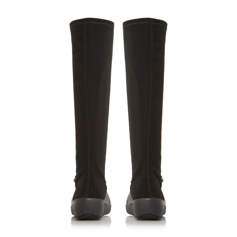 フィットフロップ FitFlop レディース シューズ・靴 ブーツ【Fifi Chain High Boots】black
