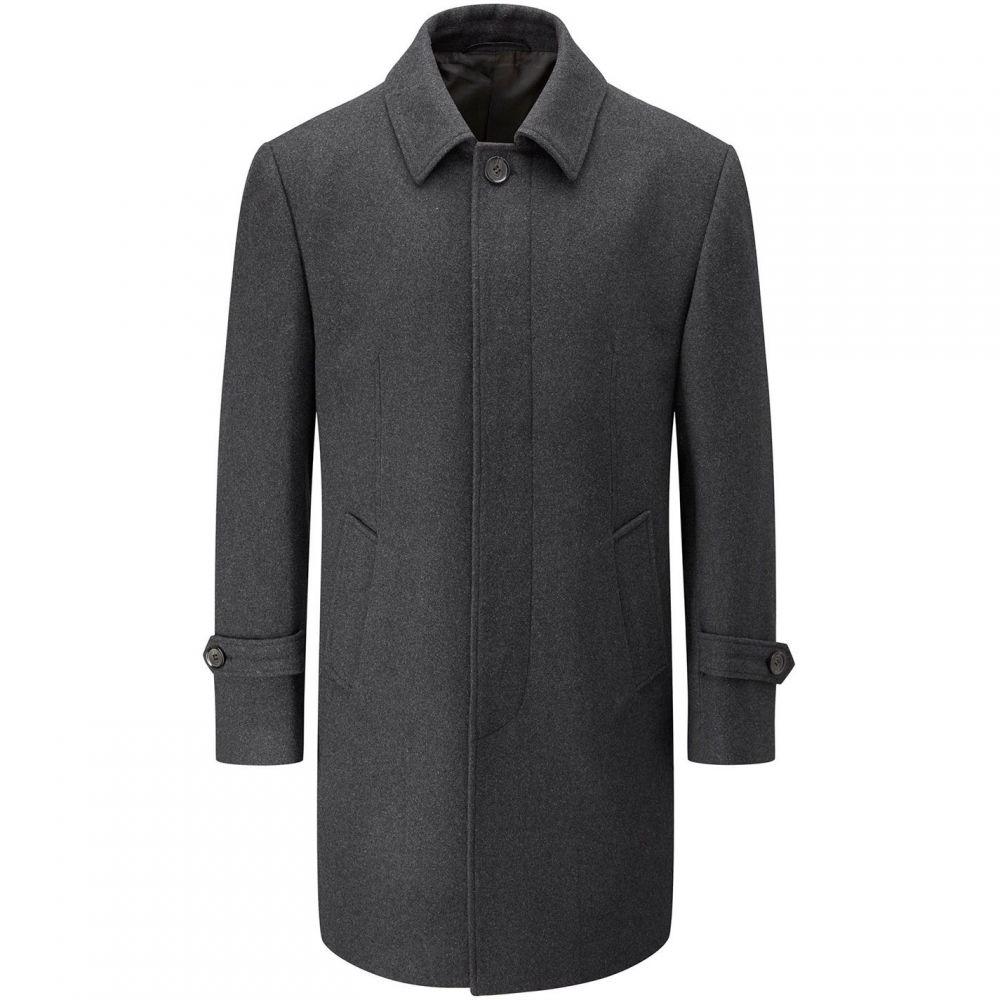 スコープス Skopes メンズ アウター コート【Hendon Overcoat】Charcoal
