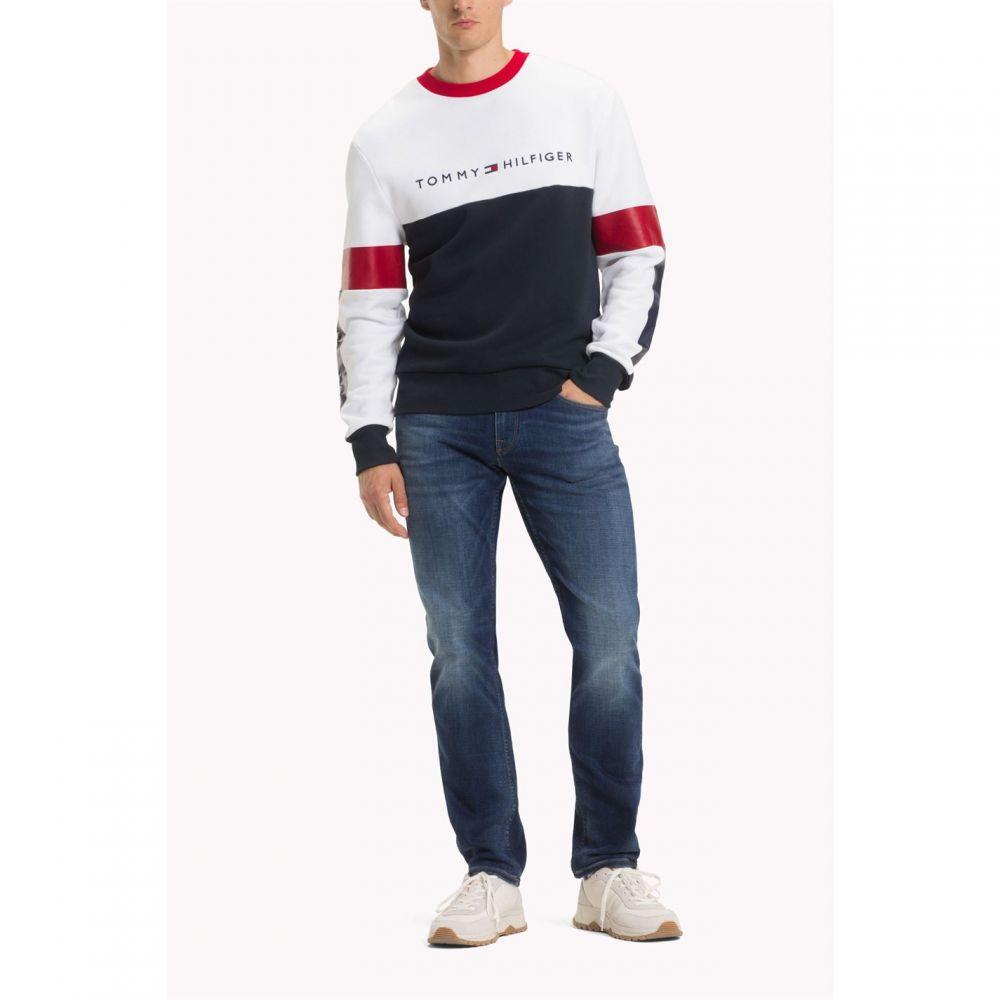 トミー ヒルフィガー Tommy Hilfiger メンズ トップス スウェット・トレーナー【Stripe Sweater】Multi-Coloured