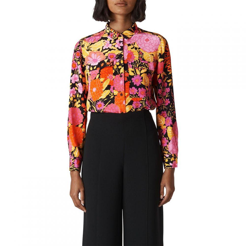 ホイッスルズ Whistles レディース トップス【Luella Bloom Silk Shirt】Multi-Coloured