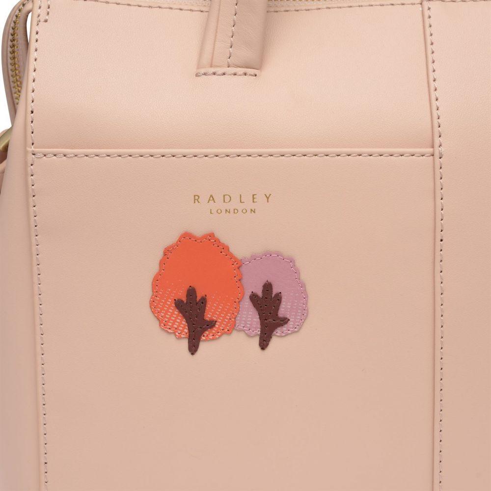 ラドリー Radley レディース バッグ ハンドバッグ【Over The Hills Satchel Bag】Light Pink