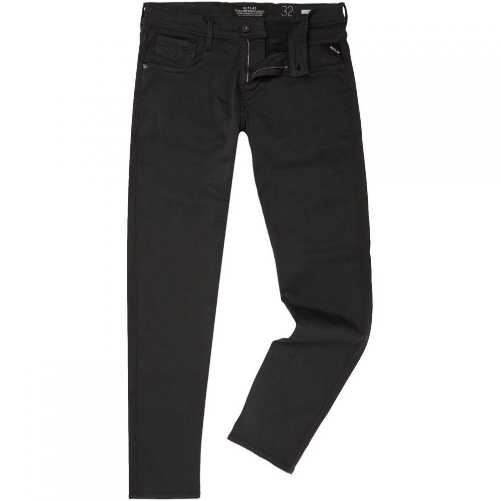リプレイ Replay メンズ ボトムス・パンツ ジーンズ・デニム【Anbass Hyperflex Slim Fit Jean】Dark Grey