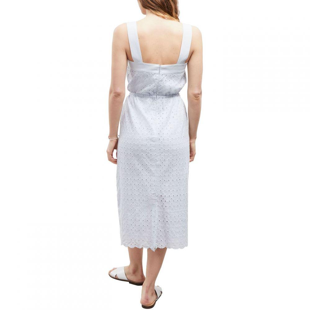 グレート プレインス Great Plains レディース ワンピース・ドレス ワンピース【Summer Broiderie Anglaise Midi Dress】Blue
