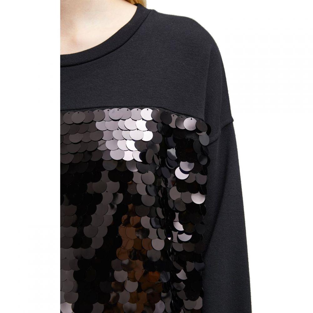 フレンチコネクション French Connection レディース ワンピース・ドレス ワンピース【Emilia Sequin Jersey Sweater Dress】Black