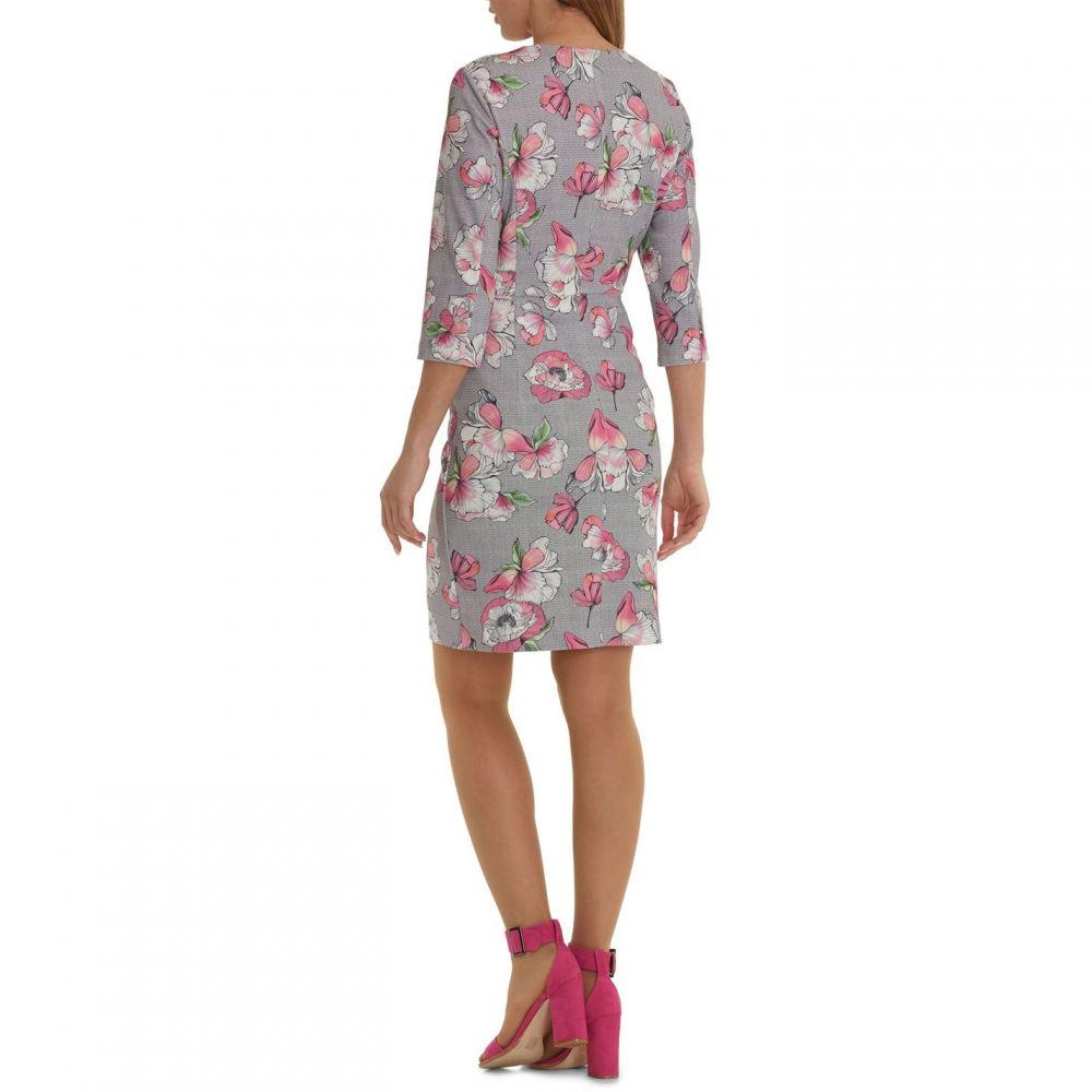ベティー バークレイ Betty Barclay Elements レディース ワンピース・ドレス ワンピース【Floral Print Peplum Dress】Multi-Coloured