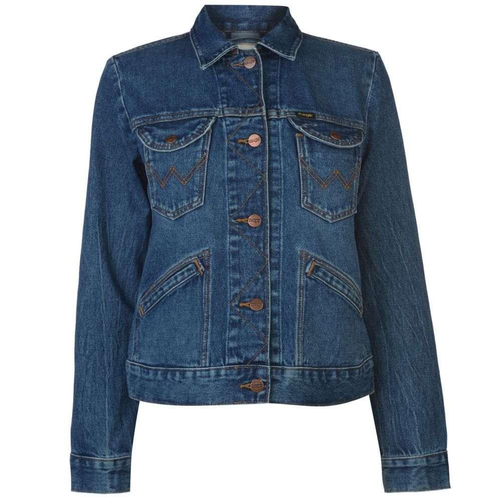 ラングラー Wrangler レディース アウター ジャケット【Icon Jacket】Blue Denim Yr