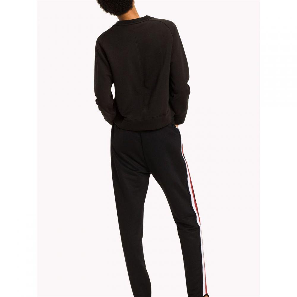 トミー ヒルフィガー Tommy Hilfiger レディース トップス スウェット・トレーナー【Bia Flag Sweatshirt】Black