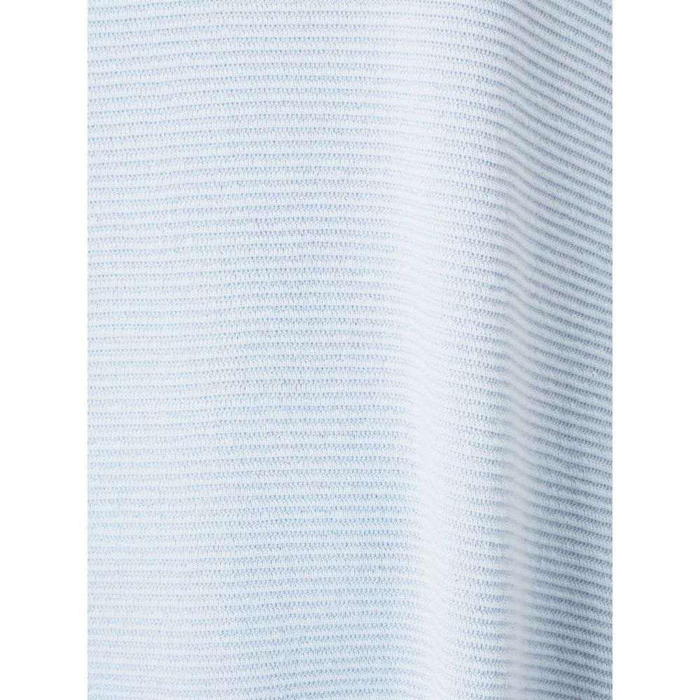 フェーズ エイト Phase Eight レディース トップス チュニック【Tiberia Ripple Stitch Knitted Tunic】Blue