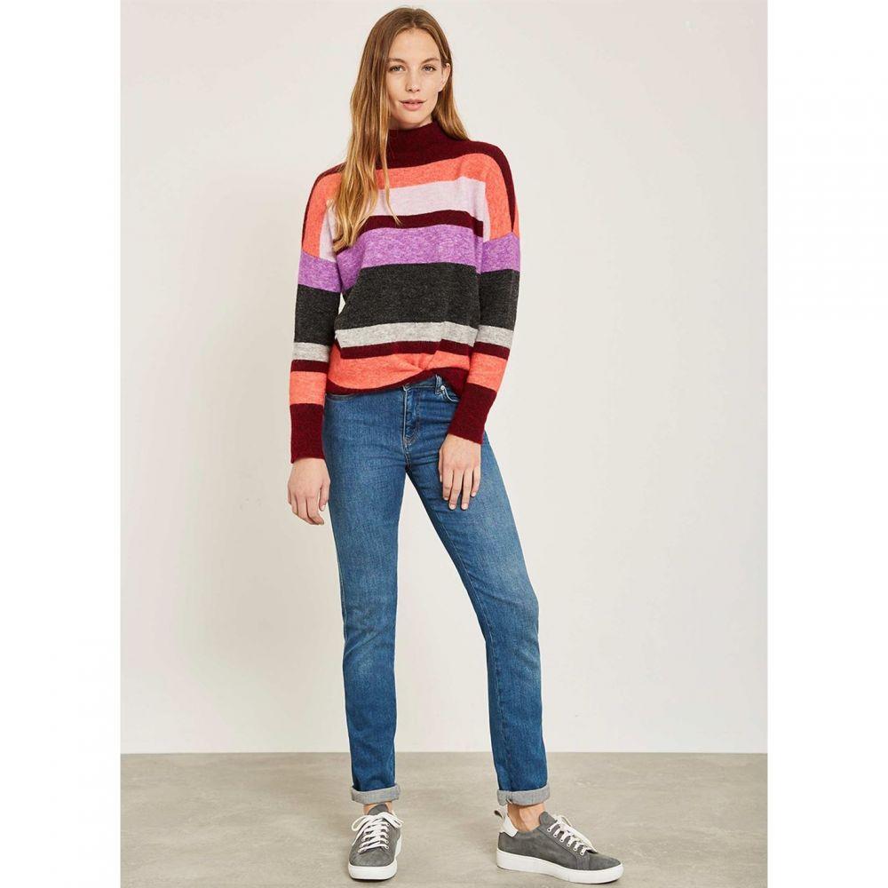 ミルトン ベルベット Mint Velvet レディース トップス ニット・セーター【Multi Striped Oversized Knit】Multi-Coloured