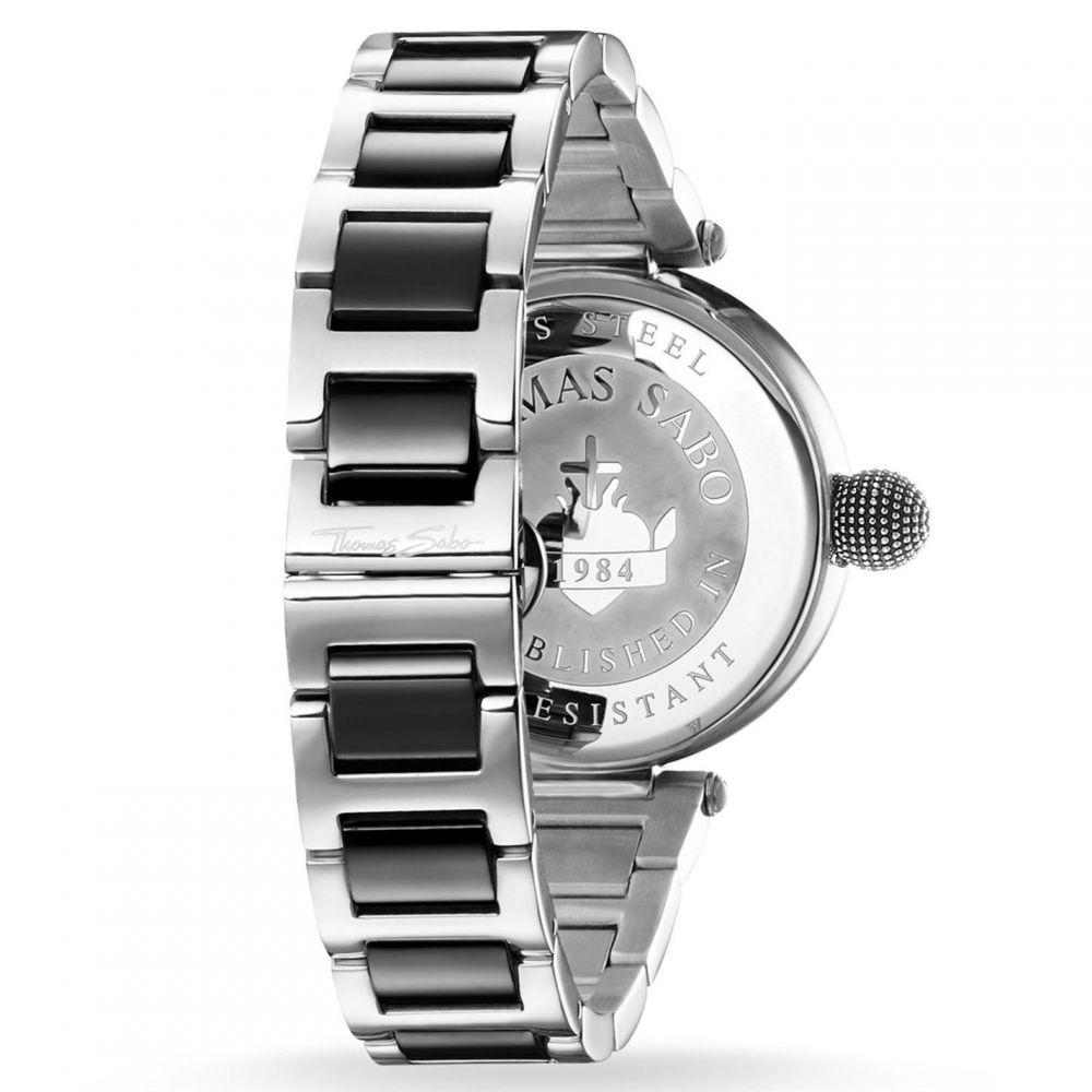 トーマスサボ Thomas Sabo レディース 腕時計【Glam And Soul Karma Bi colour Watch】Metallic