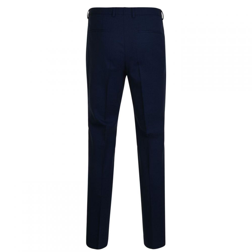 ヒューゴ ボス Hugo Business メンズ ボトムス・パンツ スラックス【Textured Trousers】Navy