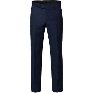 ベンシャーマン Ben Sherman メンズ スラックス ボトムス・パンツ【Garrison Blue Textured Trouser】Blue