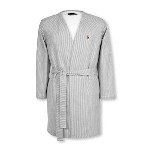 ラルフ ローレン Ralph Lauren レディース ガウン・バスローブ インナー・下着【Oxford Bath Robe】Charcoal