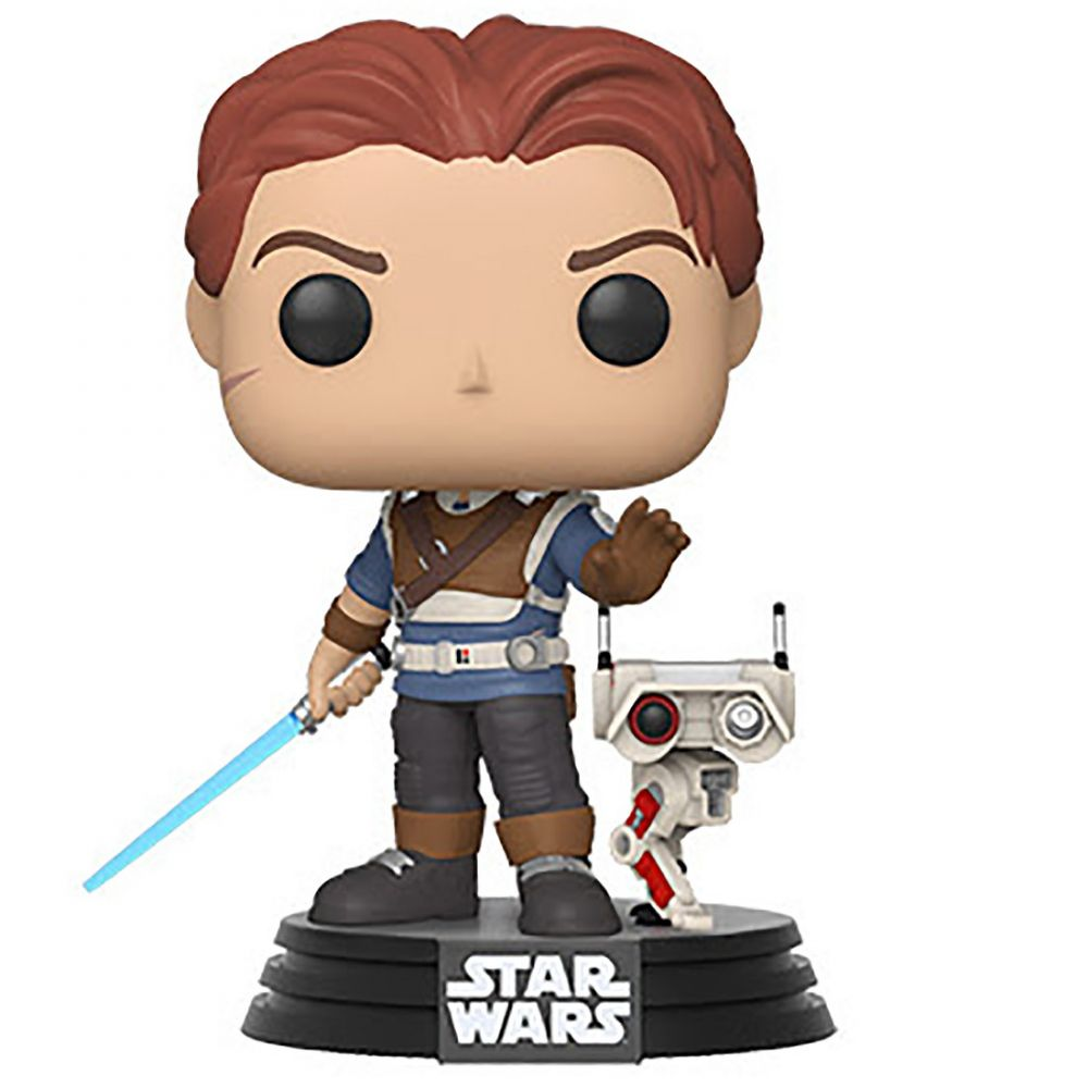 コレクション, フィギュア  Star Wars pop games star wars jedi fallen order cal kestis with bd-1tan