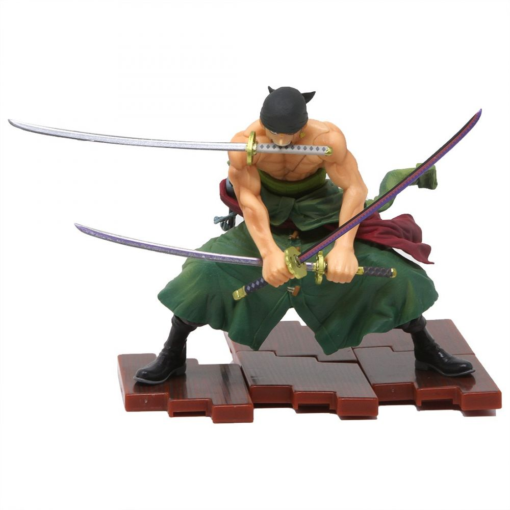 コレクション, フィギュア  One Piece figuarts zero one piece pirate hunter zoro figuregreen