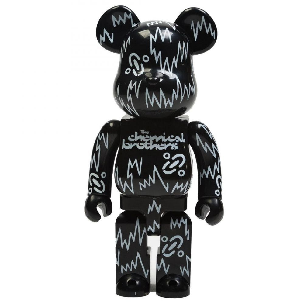 コレクション, フィギュア  Bearbrick the chemical brothers 400 bearbrick figureblack
