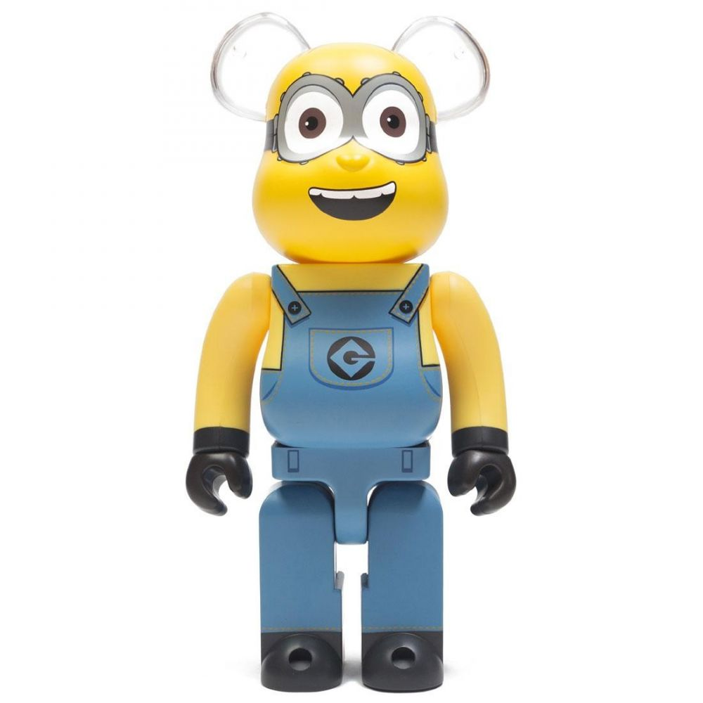 コレクション, フィギュア  Bearbrick despicable me 3 minion dave 400 bearbrick figureyellow
