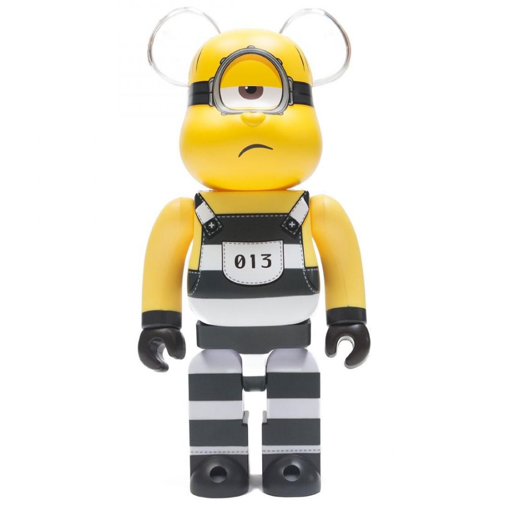 コレクション, フィギュア  Bearbrick despicable me 3 minion mel 400 bearbrick figureyellow