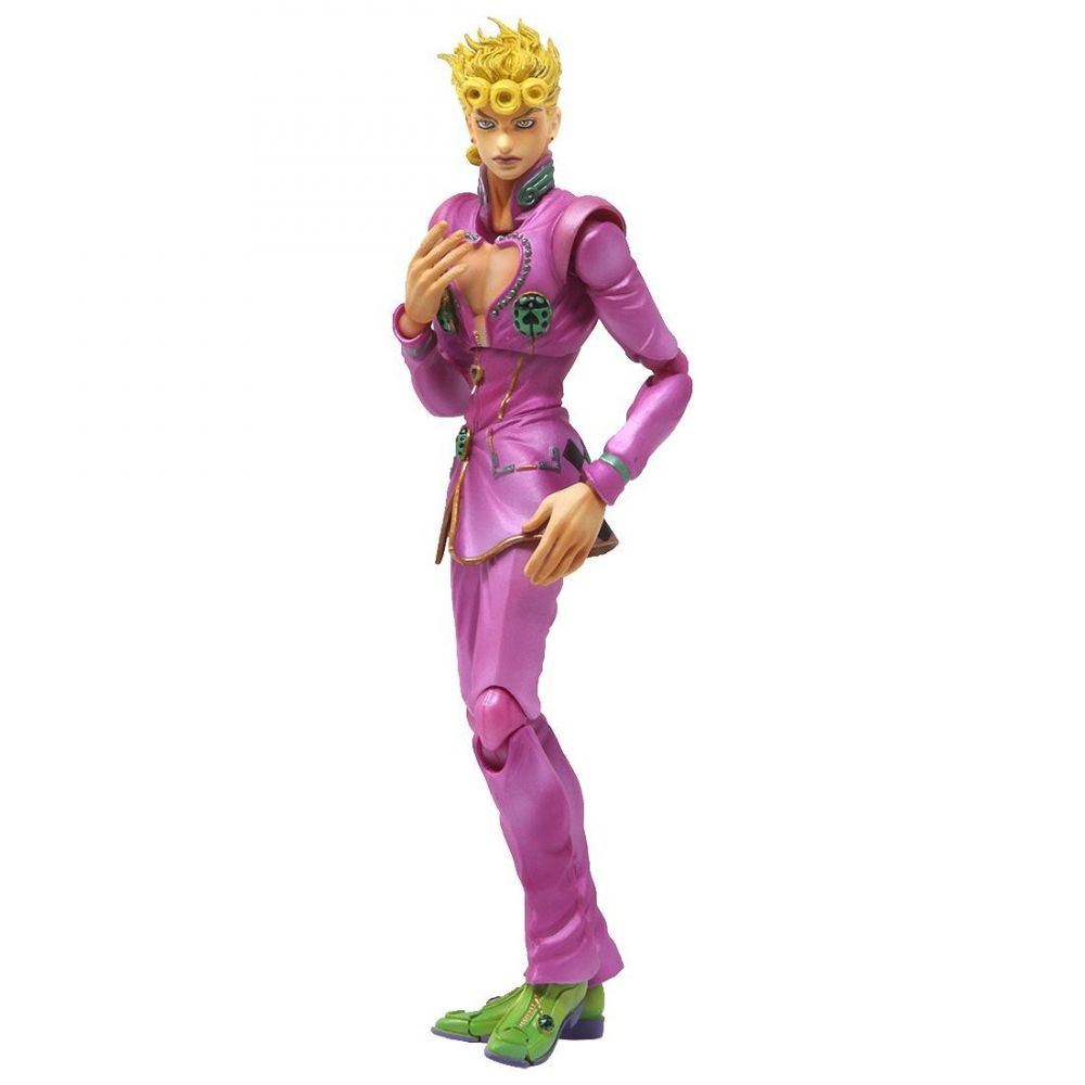 コレクション, フィギュア  JoJos Bizarre Adventure medicos super action statue jojos bizarre adventure golden wind giorno giovanna figurepurple
