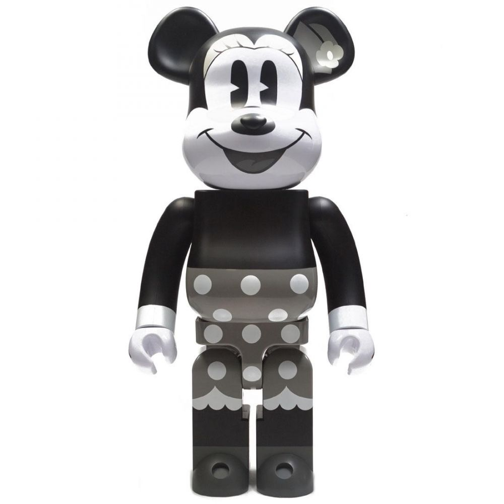 コレクション, フィギュア  Disney disney minnie mouse black and white ver 1000 bearbrick figureblackwhite
