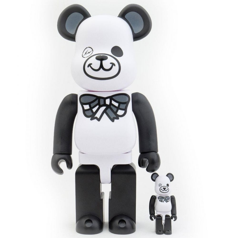 コレクション, フィギュア  Bearbrick x freemasonry x fragment design white 100 400 bearbrick figure setwhite