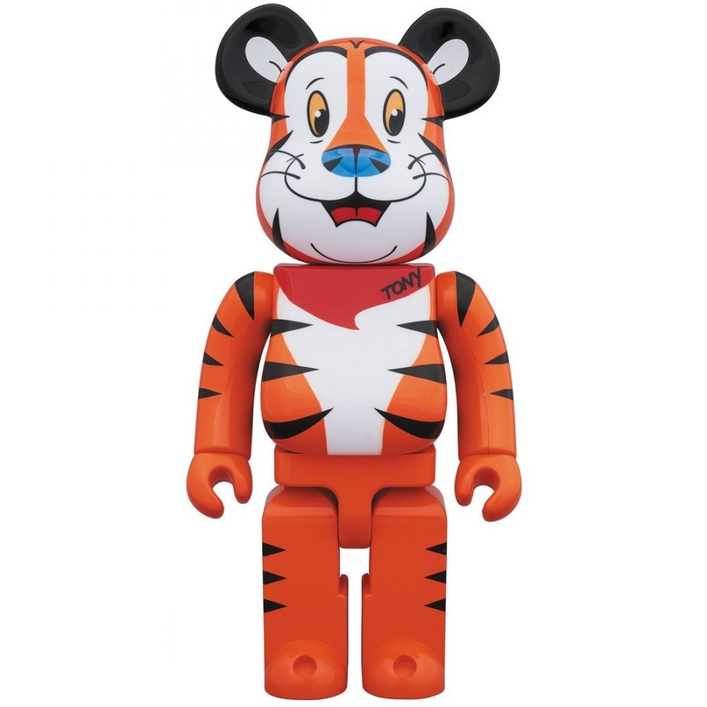 コレクション, フィギュア  Bearbrick kelloggs tony the tiger 1000 bearbrick figureorange