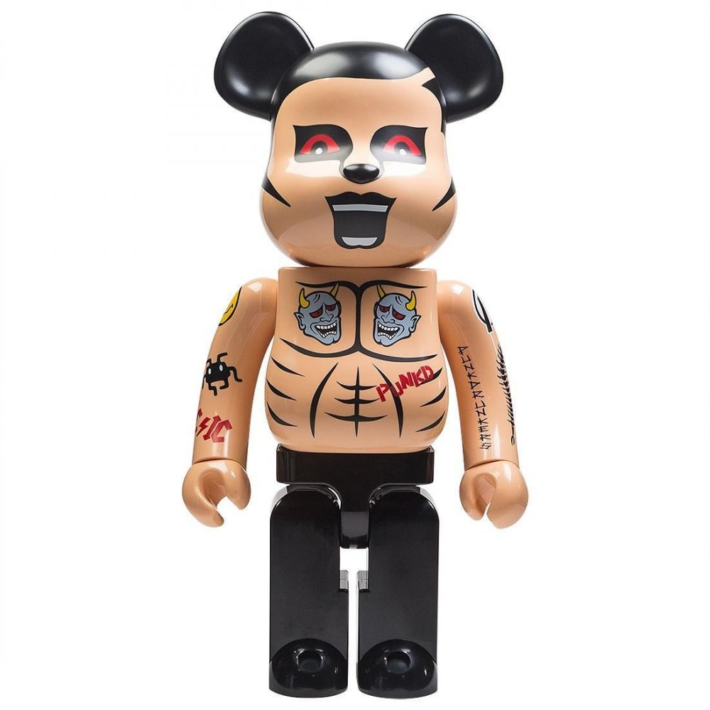 コレクション, フィギュア  Bearbrick punk drunkers aitsu tatoo ver 1000 bearbrick figuretan