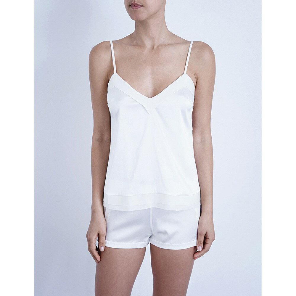 ラ ペルラ la perla レディース インナー パジャマ・トップのみ【silk essence stretch-silk top】Natural:フェルマート