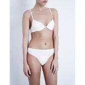 ボダス bodas レディース インナー ブラジャー【cotton basics padded bra】White
