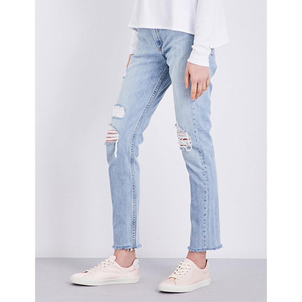 ラグ&ボーン rag & bone レディース ボトムス ジーンズ【marilyn cropped high-rise jeans】Union pool:フェルマート