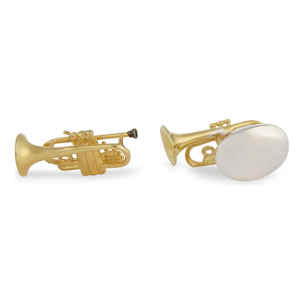 ディーキン アンド フランシス deakin and francis メンズ アクセサリー カフ【trumpets sterling silver cuflinks】Gold:フェルマート