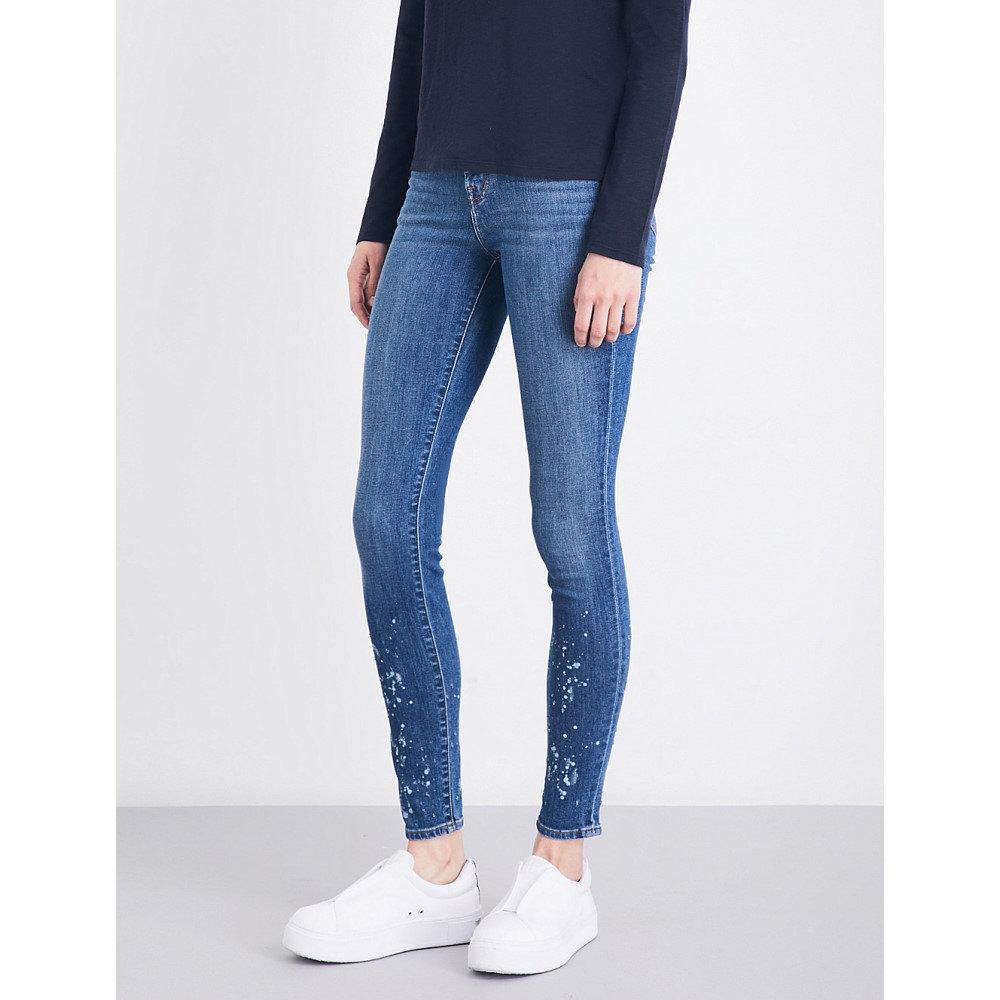 ジェイ ブランド j brand レディース ボトムス スキニー【maria stepped-hem skinny mid-rise jeans】Anarchy:フェルマート