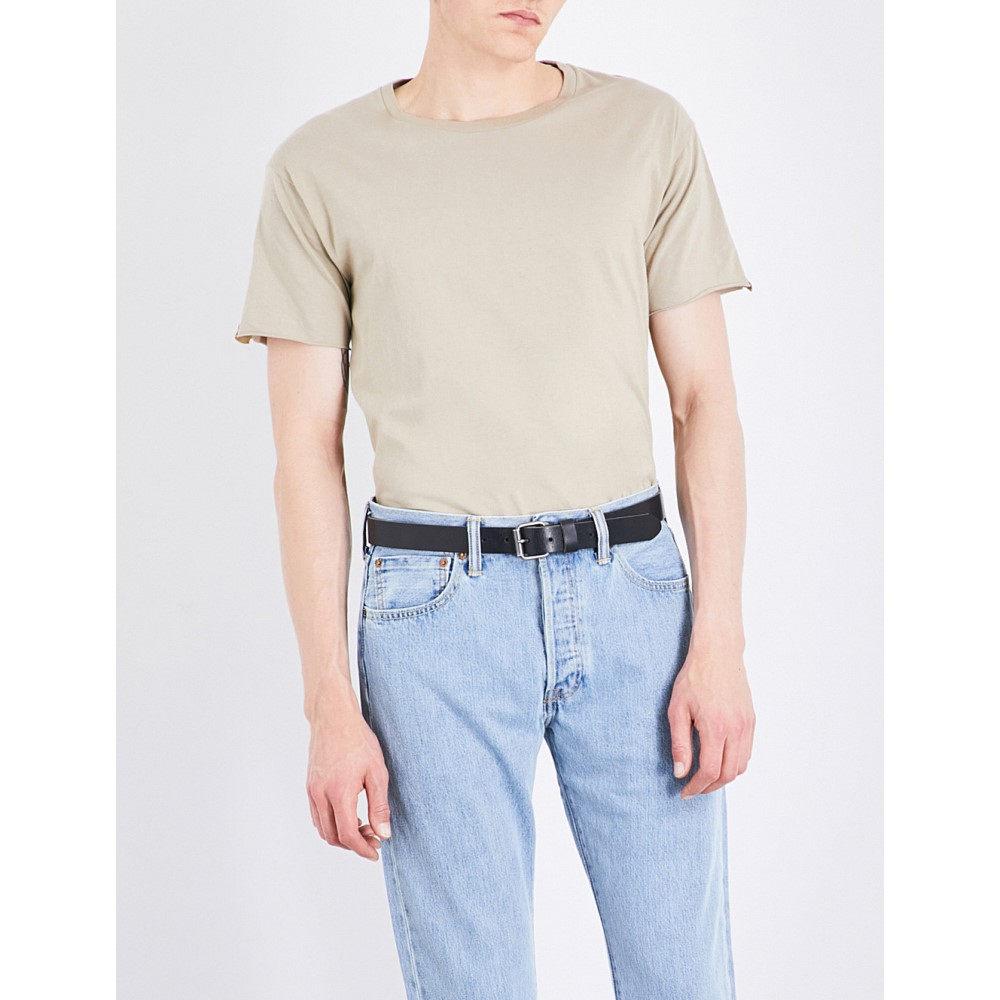マジック スティック magic stick メンズ トップス Tシャツ【panelled cotton-jersey t-shirt】Beige:フェルマート